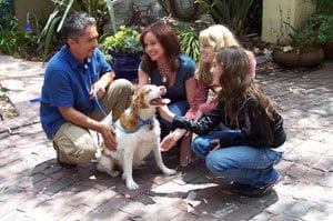 Cesar Millan with dog