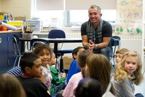 cear millan in classroom