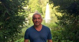 Cesar Millan in forest
