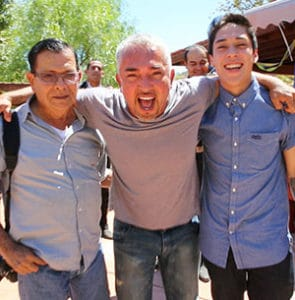 Cesar Millan with father