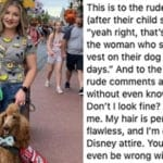 'Not All Disabilities Are Visible': Mom Confronts Critics Of Her Service Dog In Heartbreaking Instagram Post