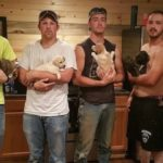Bachelor Party Turns Into Puppy Rescue When Men Find Dogs In The Woods