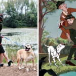 Couple Recreates Disney's '101 Dalmatians' For Their Engagement Photos