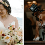 Couple's Dog Filmed Their Wedding With A GoPro That Was Attached To His Collar