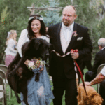 Bride Carries Her Dying Dog Down The Aisle On Her Wedding Day