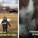 Young Boy Reunites With His Lost Dog After A Month Apart