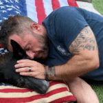 Navy SEAL Says Goodbye To His Longtime K9 Partner
